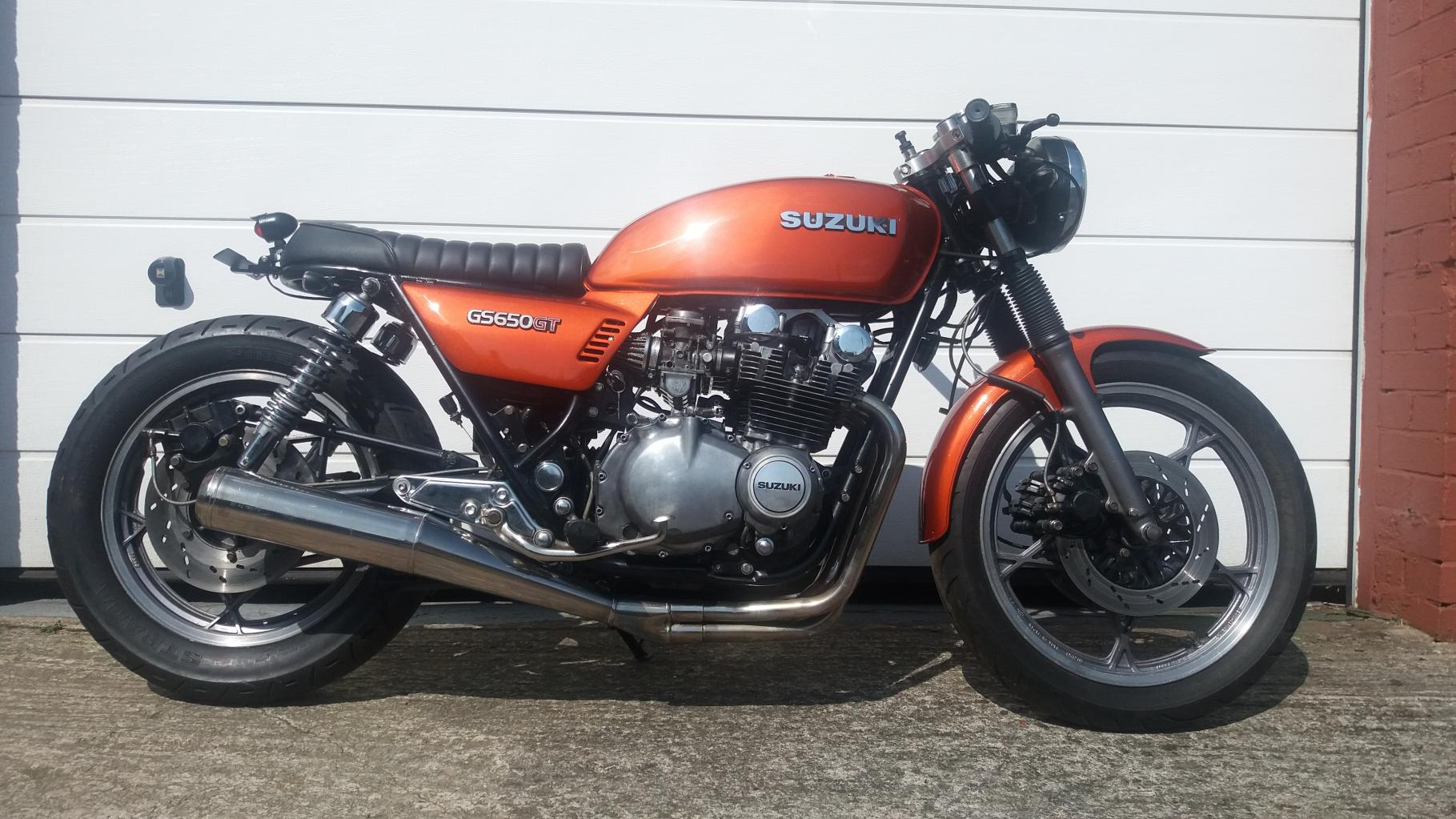 Suzuki Gs650 Brat Cafe Racer Winter Project Almost Finished