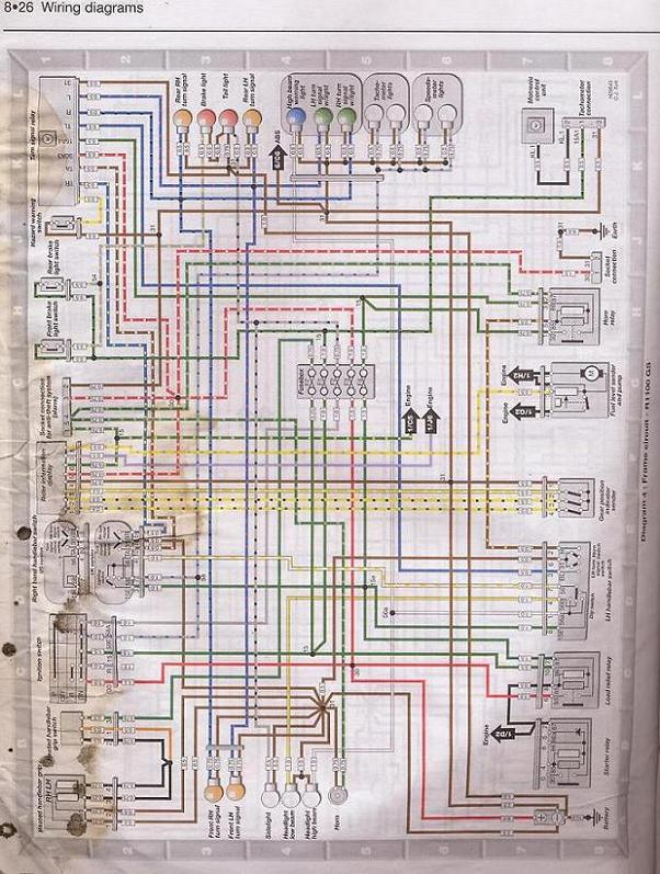 gs1100 wiring diagram wanted, Wiring diagram