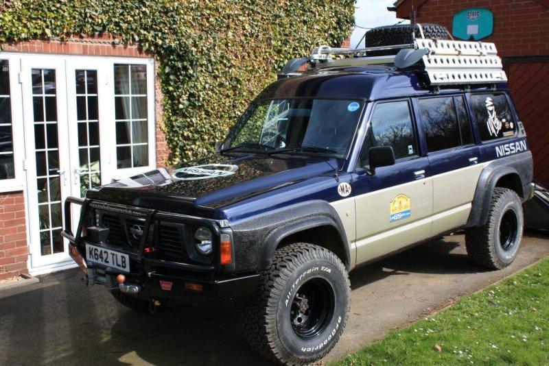 My Y60's gone to the skye - Patrol 4x4 - Nissan Patrol Forum